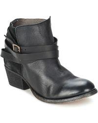 Hudson Jeans Enkellaarzen Horrigan - Zwart