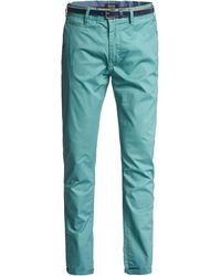 Salsa Pantalon chino ANDY Slim Slim Chinots - Bleu