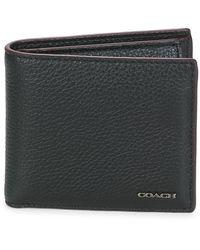 COACH Portemonnee Coin Wallet - Zwart