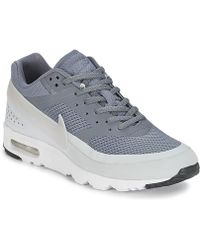 new product 6aff1 b1b19 Nike - Air Max Bw Ultra W Women s Shoes (trainers) In Grey - Lyst