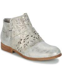 Dream in Green - - Women's Mid Boots In Silver - Lyst