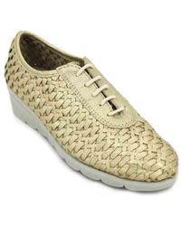 The Flexx Bonitas C250_28 Wo Casual Shoes - Metallic