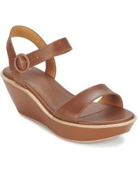 Camper | Damas Women's Sandals In Brown | Lyst