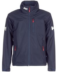 Helly Hansen Windjack Crew Hooded Midlayer Jacket - Blauw