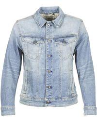 G-Star RAW Spijkerjack 3301 N Boyfriend Denim Jacket - Blauw