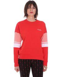 Diadora 102175872 Sweat-shirt - Rouge