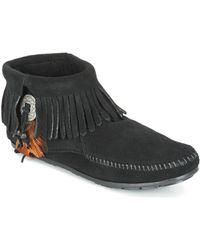Minnetonka Boots - Noir