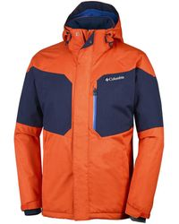 Columbia Windjack Alpine Action Jacket - Oranje