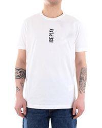 Iceberg 21EU1M0F08BP400 T-shirt - Blanc