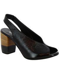 Leonardo Shoes Sandalen 4673 Nero - Zwart