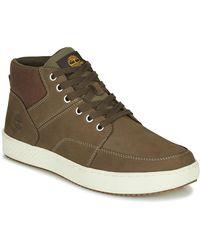 Timberland Hoge Sneakers Cityroam Cup F/l Chukka - Groen