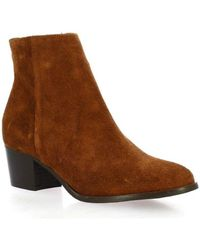 Pao - Bottines Boots cuir velours - Lyst