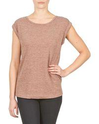 Color Block - 3203417 Women's T Shirt In Beige - Lyst