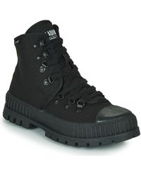 Palladium PALLASHOCK HKR HI Boots - Noir