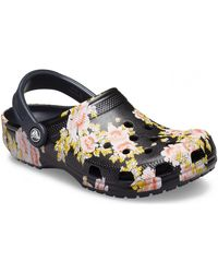Crocs™ Printed floral 206376 Mules - Noir
