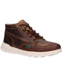 Kickers 781501 KICK HI Boots - Marron