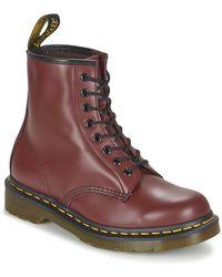 Dr. Martens 1460 Combat Boots - Rood