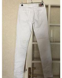 Le Temps Des Cerises Jeans blanc T 26 Jeans