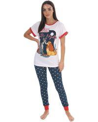 Disney Pyjama Lady And The Tramp Pyjamas / Chemises de nuit - Multicolore