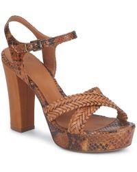 FRU.IT Kenia Women's Sandals In Brown