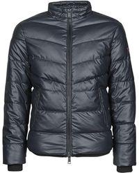 Guess Piumino Stretch Eco Leather Puffa - Blu
