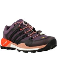 adidas Originals - Terrex Boost Gtx W Women's Running Trainers In Brown - Lyst