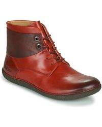 Kickers Boots HOBBYTWO - Rouge