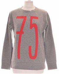 Claudie Pierlot Sweat Femme 36 - T1 - S Sweat-shirt - Gris