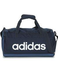 adidas Sporttas Lin Duffle S - Blauw