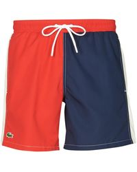 Lacoste Zwembroek Millot - Rood