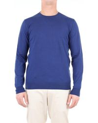 Paolo Pecora MAILLE HOMME Pull - Bleu