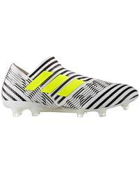 adidas Scarpe Calcio Nemeziz 17+ 360 Agility FG Dust Storm Pack - Bianco