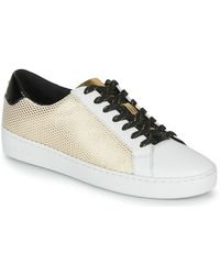 MICHAEL Michael Kors Lage Sneakers Irving Lace Up - Metallic