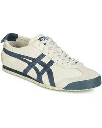 Onitsuka Tiger MEXICO 66 LEATHER hommes Chaussures en Beige - Neutre