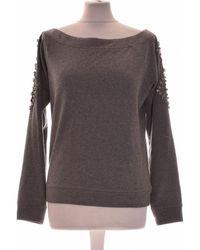 IKKS Sweat Femme 36 - T1 - S Sweat-shirt - Gris