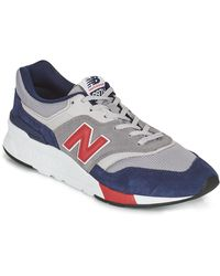 New Balance Lage Sneakers 997 - Rood