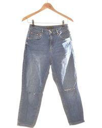 ASOS Jean Droit Femme 36 - T1 - S Jeans - Bleu