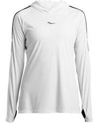 Saucony SAW800250 T-shirt - Blanc