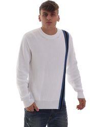 Versace B5GVB81150421003 Pull - Blanc