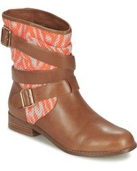 Mellow Yellow Vabelo Mid Boots - Brown