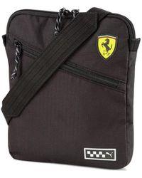 PUMA Ferrari Portable Sac Bandouliere - Noir