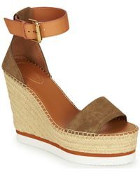 See By Chloé Espadrilles Sb26152 - Bruin