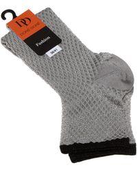 Doré Doré Calcetines cortas - DD Fashion - Metálico