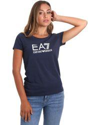 EA7 Camiseta 8NTT63 TJ12Z - Azul