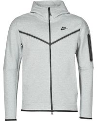 Nike Tech Fleece Full Zip Hoodie - Grey