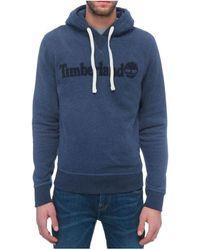 Timberland EXETER RIVER FELPA BLU Sweat-shirt - Bleu