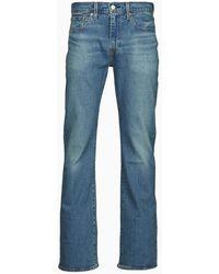 Levi's Jeans Bootcut 527 Slim Boot Cut - Blu