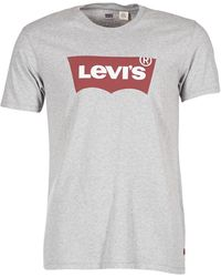 Levi's GRAPHIC SET-IN T-shirt - Gris