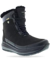 Joya S Cortina Ptx Snow Boots - Black