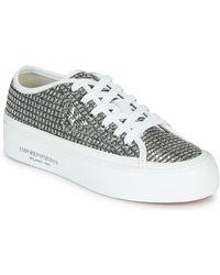 Emporio Armani Lage Sneakers X3x109-xm519 - Grijs